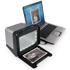 The Desktop Photograph To Digital Picture Converter - Hammacher Schlemmer