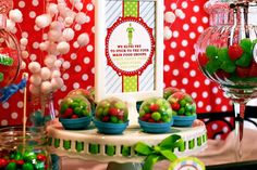 Hilariously cute idea for a holiday party.  Elf-the-Movie themed...