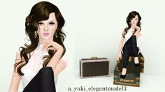 Elegant Model Pose Set
