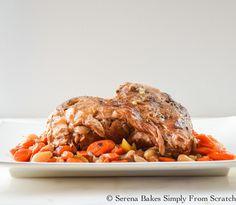 Balsamic Pork Pot Roast the perfect dinner for fall.