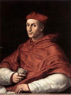 Raffello da Urbino - portrait of Cardinal Bibbiena