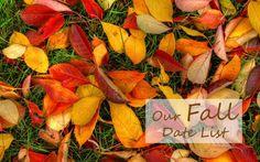 20 Fall Date Ideas