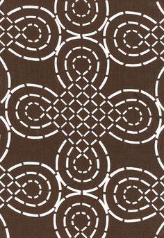 Trellis Knot Schumacher Fabric