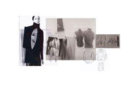 Fashion Sketchbook - fashion design research & development; fashion student portfolio // Karmen-Marie Parker