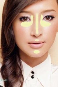 karine facemap 200x300 Asian Makeup Must: Luminizers (Highlighters) and How to Use Them