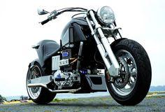 Neander Turbo Diesel Motorcycle is Introduced