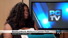 Boots2Career Fair this month invited members of the service who are just getting out of the service and are looking for somewhere to work.