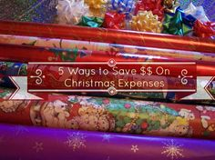 5 Ways to Save Money on Christmas!!!