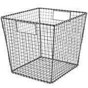 Kids Storage: Wire Storage Cube Bins in Tabletop Storage