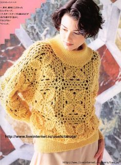 Crochet cardigan ♥LCT♥ with diagram
