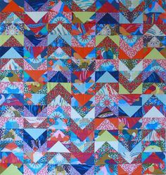 Tips from Anna Maria Horner on using solid colors in quilts