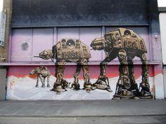 Star Wars Graffiti Brighton