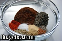 DIY Seasoning/Spice Mixes