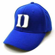 Duke Blue Devils NCAA Premier Collection One Fit Cap Hat Large / Xl by ...