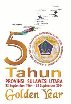 50 Years of North Sulawesi Province (Indonesia)