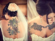 Tattooed Bride!