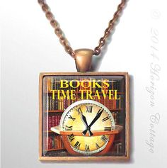 Books  Time Travel  Your Choice of Two Styles  by HorizonCottage