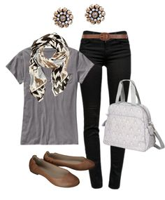 Simple and sweet neutral color combo.