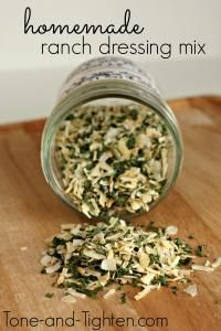 The Best Homemade Ranch Dressing Mix