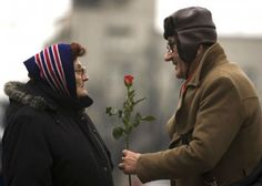 We are never to old to share love. Never to old remember our one great love.