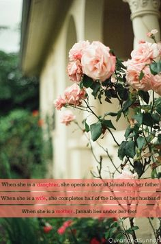 """quranandsunnah: """"If everyone knew the true status of a Muslim women in Islam, even the men would want to be women"""" (Shaykh Akram Nadawi)"""