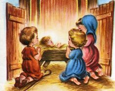 baby christmas clipart baby jesus in the stable nativity wallpaper ...