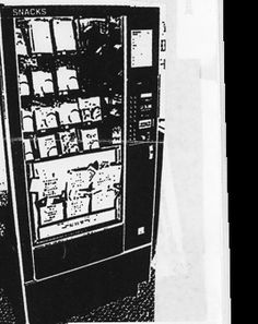 """What the """"Book Drop"""" [http://pinterest.com/pin/175218241723450608/] turned into: """"Like the name might imply Zine Machine is a vending machine selling zines, books and minicomics with prices from $ 1 to $ 10. It's located in the University of Iowa's Library, but you might spot them at a zine workshop or conference near you. The machine has an open submission policy that could get your zines distributed right in the heart of the USA."""""""