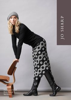 Hexagon Skirt: free crochet pattern