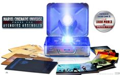 Marvel Cinematic Universe: Phase One – Avengers Assembled (10-Disc Limited Edition Six-Movie Collector's Set) [Blu-ray]