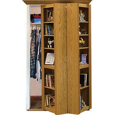 Murphy Door Hardware, Build a Secret Passage Door! - Rockler.com $199.99 bookcases, idea, hardware, hidden doors, murphi door, shelves, hous, closet, old doors