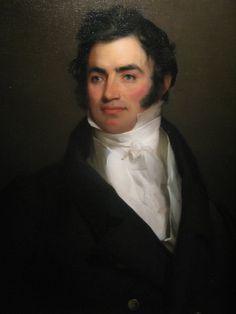 Philadelphia Auctioneer Benjamin Tevis painted by Thomas Sully.