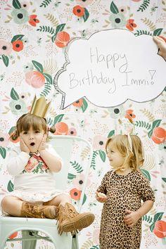 Botanical party 1st birthday by Nikki Kinowski   100 Layer Cakelet