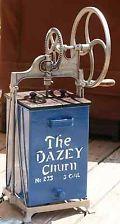 Dazey Butter Burn - Vintage Antique