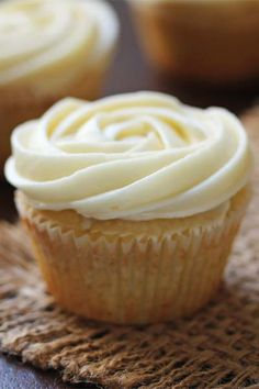 Cinnamon Roll Cupcakes from Ashley Marie's Kitchen