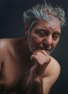 Javier Arizabalo photorealistic painting
