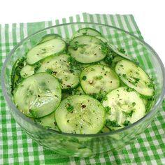 Scandinavian-Style Cucumber Pickle #ScandinavianCuisine #HealthyEats