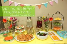 """Smashed Peas and Carrots: """"Spring is Here"""" Play Date Party"""