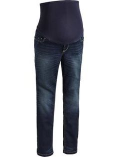 Maternity Smooth-Panel Skinny Jeans | Old Navy $35