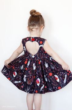dress patterns, sweetheart dress, kids patterns, dress pdf, babi