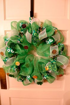 St. Patrick's Day wreath
