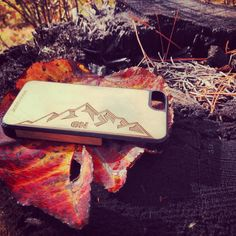 The #OutdoorNation Woodchuck case out where it belongs.  http://www.woodchuckcase.com/collections/outdoor-nation  #woodenphonecase #phonecase #woodphonecase #woodchuckcase