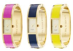 gorgeous kate spade bangle watches