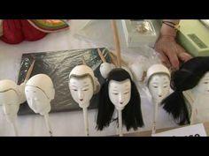 Kimekomi Doll Making at the Smithsonian Folklife Festival 2010 artdollstoday.com #dolls, #bjd #japanesedoll