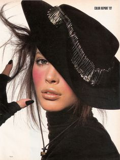 1987 - Christy Turlington by Irving Penn (US Vogue)