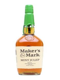 Maker's Mark mint julep.
