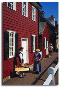Old Salem, NC...lived there for 4 years.