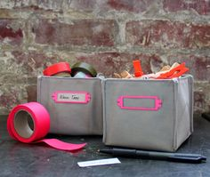sewing 101: fabric boxes | Design*Sponge