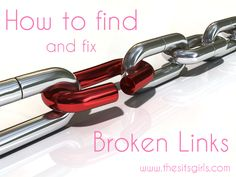 Over time, as websites update, links on your blog can become broken. This will teach you how to find and fix broken links.
