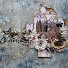 Keren Tamir's Gallery: Cherish You- Flying Unicorn June Kit