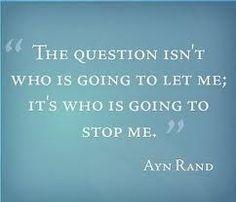 good question // ayn rand